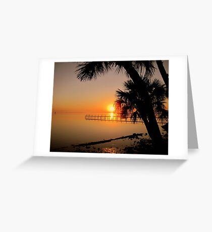 Sunrise in Florida Greeting Card