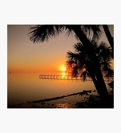 Sunrise in Florida Photographic Print