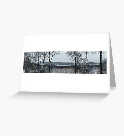 New Croton Panorama  Greeting Card