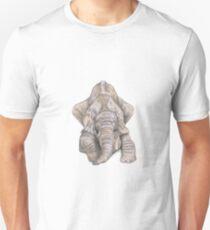 Elefant - jung und verspielt Slim Fit T-Shirt