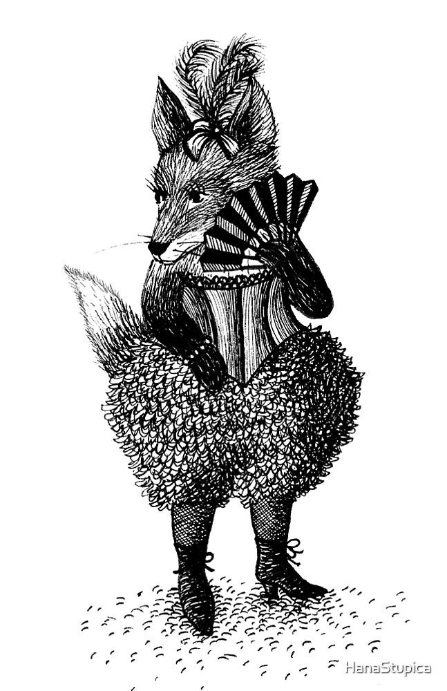 Fox - Girl by HanaStupica