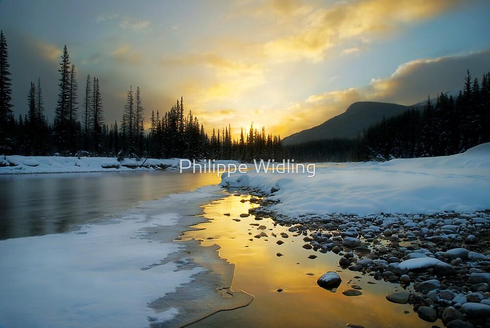 Banff sunrise by Philippe Widling