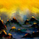 «Montañas de fuego» de Johannes Kert Roots