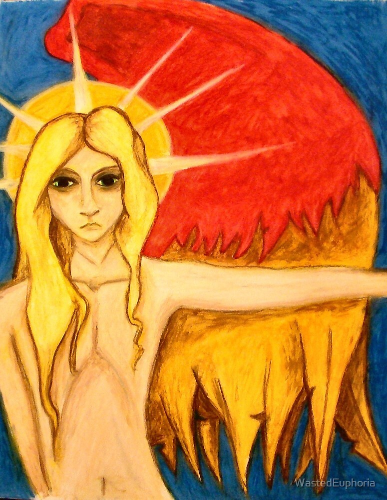 Angel Eyes Wide by WastedEuphoria