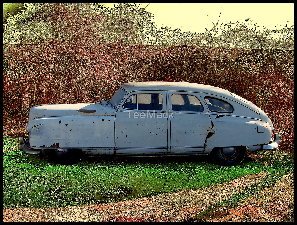 """Upside Down Bath Tub"" 1950 Nash Rambler Ambassordor Super Four Door Sedan by TeeMack"