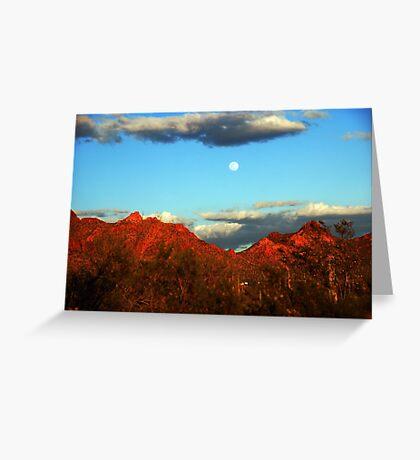 Arizona Moon Greeting Card