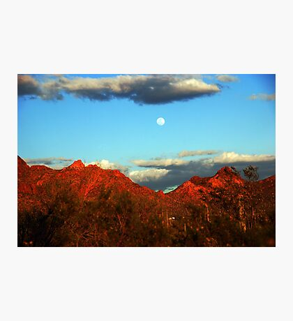 Arizona Moon Photographic Print