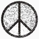 Peace symbol (black) by houk