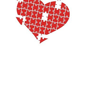 Heart Puzzle by elangkarosingo