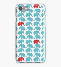 Elephant print iPhone Case/Skin