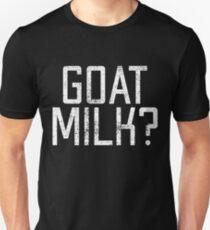 2536eaba4debac Goats milk word game Unisex T-Shirt