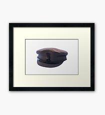 CHAUFFUEUR CAP Framed Print
