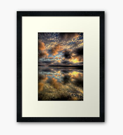 Meditation - Narrabeen Lakes, Sydney - The HDR Experience Framed Print