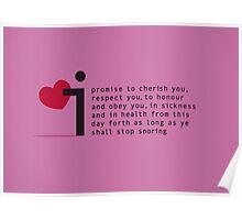 Valentines Vow 1 Poster