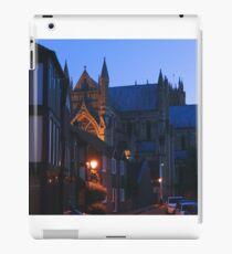 beverley minster iPad Case/Skin