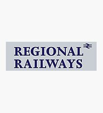 Regional Railways Photographic Print