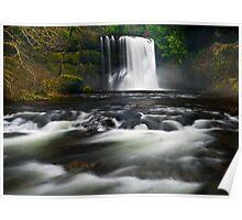 Upper North Falls (1a), Silver Creek, Oregon Poster
