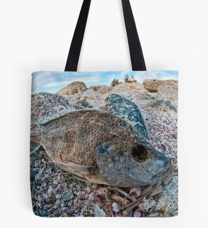 Dehydrated on the Salton Sea Tote Bag