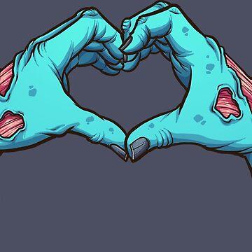 Zombie hands by memoangeles