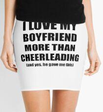 Cheerleading Girlfriend Funny Valentine Gift Idea For My Gf Lover From Boyfriend Mini Skirt