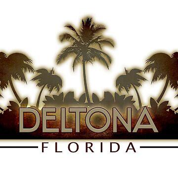 Deltona Florida palm trees by artisticattitud
