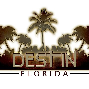 Destin Florida palm trees by artisticattitud