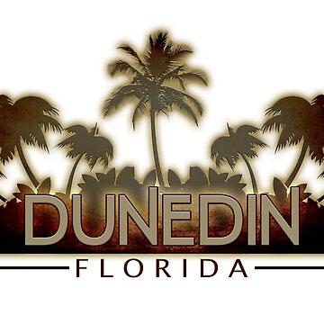 Dunedin Florida tropical palm trees by artisticattitud