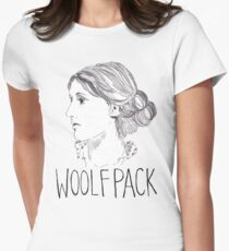 Virginia Woolfpack Women's Fitted T-Shirt