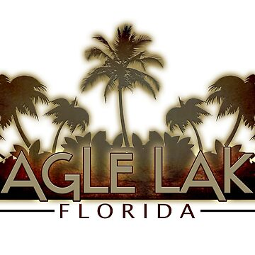 Eagle Lake Florida tropical palm trees by artisticattitud