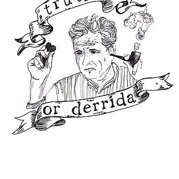 Truth or Derrida t-shirt by Moonlightoak
