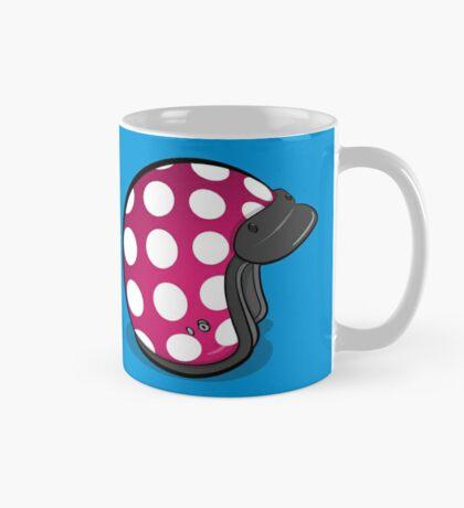 Retro Mod Crash Helmet - Polka Dot Mug