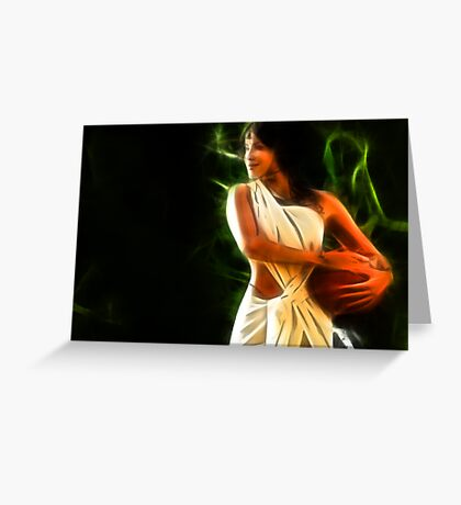 INDIAN BEAUTY-2 Greeting Card