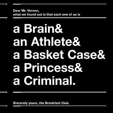 The Breakfast Club by TriangleOG