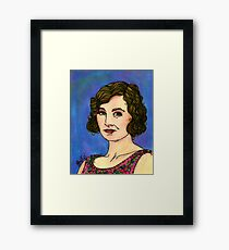 Lady Edith Framed Print