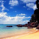 Onemana Beach, Coromandel by Paul Mercer
