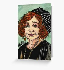 Martha Levinson Greeting Card
