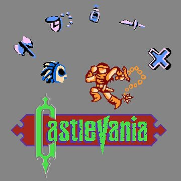 Castlevania NES by NoahThePixal