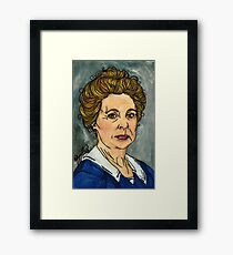 Isobel Crawley Framed Print