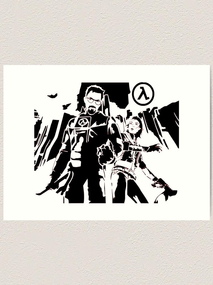 Half Life Gordon Freeman Art Print