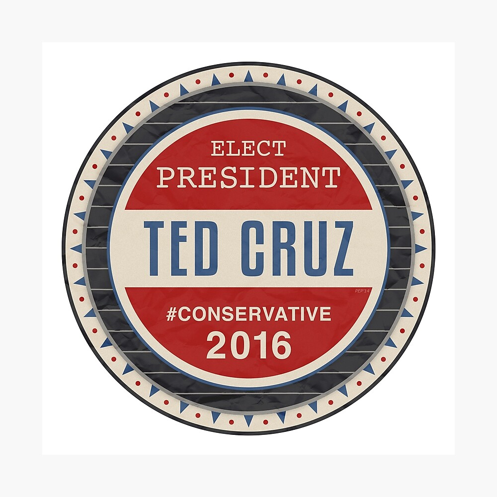 Ted Cruz 2016 Fotodruck