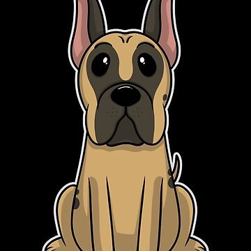 Great Dane Animal Kid Dog Puppy Sweet Gift by Khal1