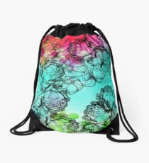 In my garden of colours Drawstring Bag