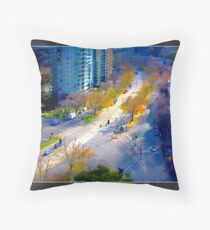 St. Kilda Road, Melbourne Throw Pillow