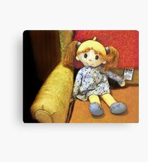 You Little Doll Canvas Print