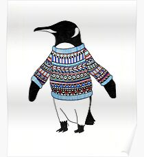Pinguin Poster