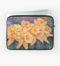 Gorgeous Yellow Daffodils Laptop Sleeve