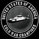 USA Cold War Champions Submarine Sub Distressed Grunge by funnytshirtemp