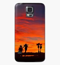 Last Night's Sunset Case/Skin for Samsung Galaxy