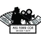 Lights, Camera, Action! Official Logo of Miss Fisher Con 2019 by MissFisherCon