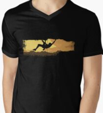 Extreme Climbing Men's V-Neck T-Shirt